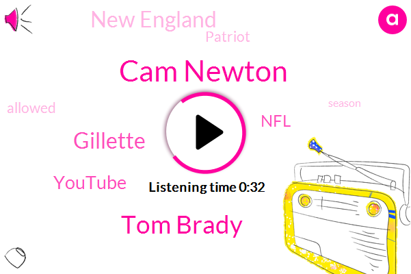 Cam Newton,Tom Brady,Gillette,Youtube,NFL,New England