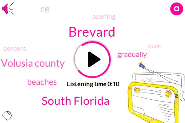 South Florida,Volusia County,Brevard