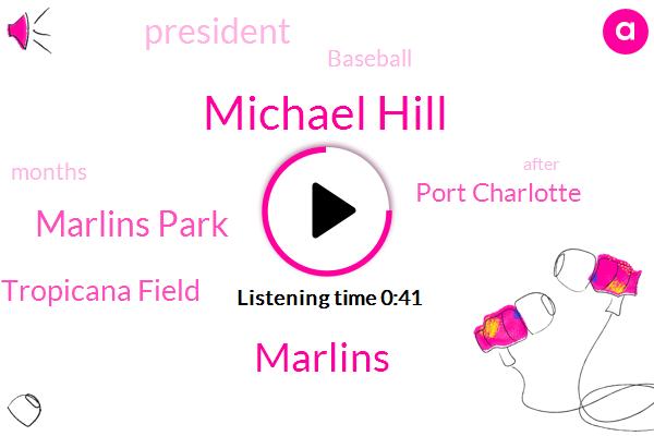Marlins,Marlins Park,Michael Hill,Baseball,Tropicana Field,Port Charlotte,President Trump