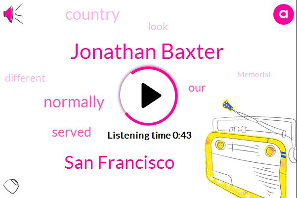 San Francisco,Jonathan Baxter