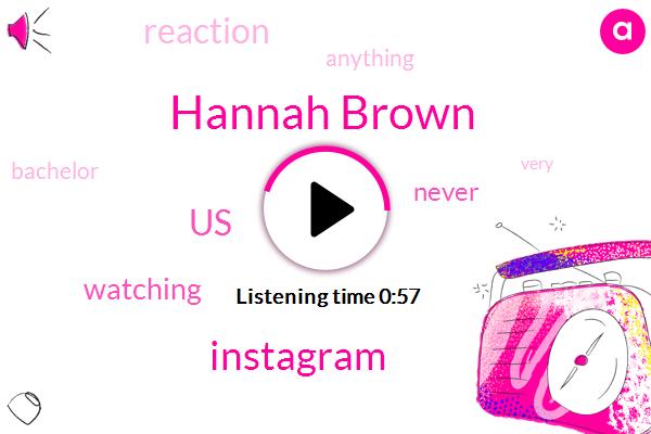 Hannah Brown,United States,Instagram