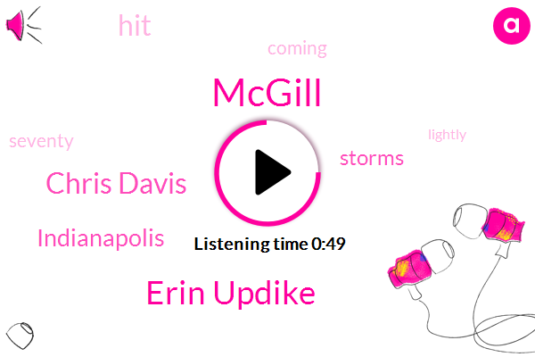 Mcgill,Erin Updike,Chris Davis,Indianapolis