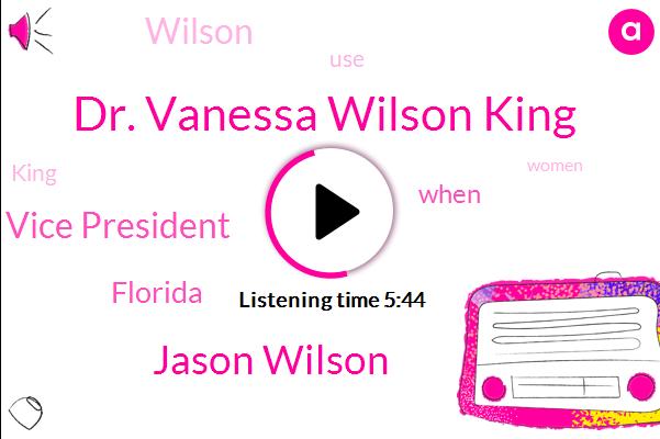 Cannabis,Dr. Vanessa Wilson King,Jason Wilson,Co Vice President,Florida