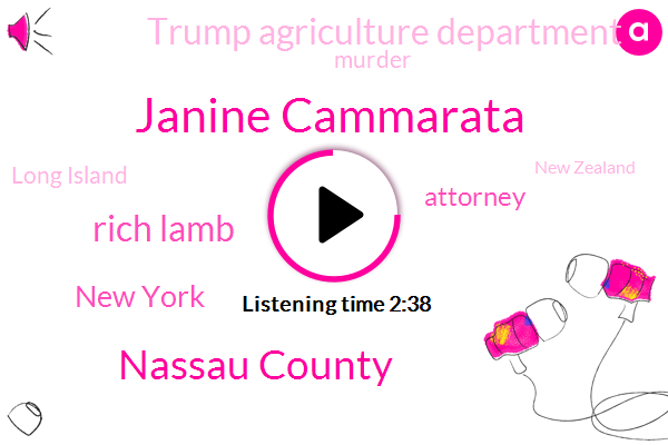Janine Cammarata,Nassau County,Rich Lamb,New York,Attorney,Trump Agriculture Department,Murder,Long Island,New Zealand,General James,Moscow,Tisch James,Christ Church,Sophia Hall,Anassa County,Columbia,Reporter,Richard Niccolo,CHE