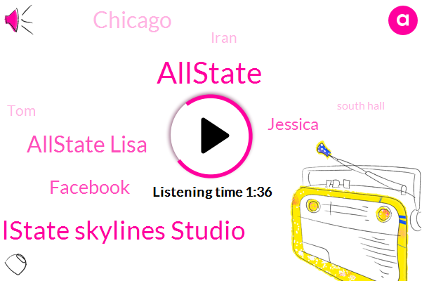 Allstate,Allstate Skylines Studio,Allstate Lisa,Facebook,WGN,Jessica,Chicago,Iran,TOM,South Hall,Wilson