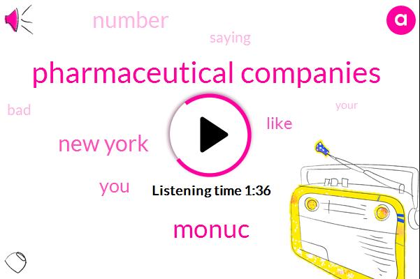 Pharmaceutical Companies,Monuc,New York
