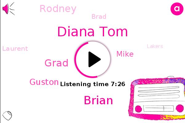 Diana Tom,Brian,New York,Canterbury,Grad,Lakers,Guston,Mike,Rodney,Brad,Laurent