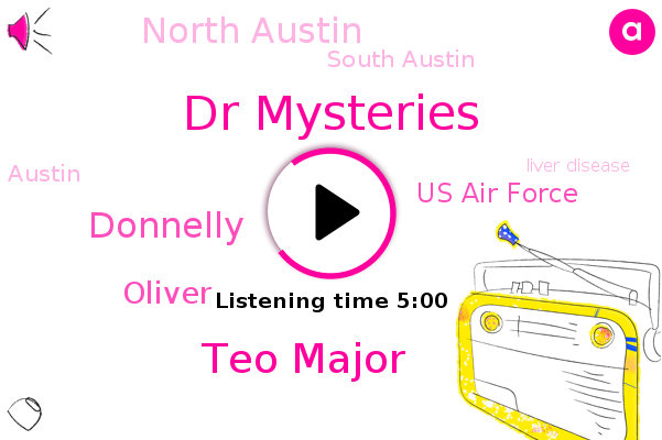 Liver Disease,North Austin,South Austin,Dr Mysteries,Teo Major,Donnelly,Prostate Cancer,Us Air Force,Austin,Pancreatic,Cirrhosis,Oliver,Metabolic Syndrome,Diabetes,Swimming,Fibrosis
