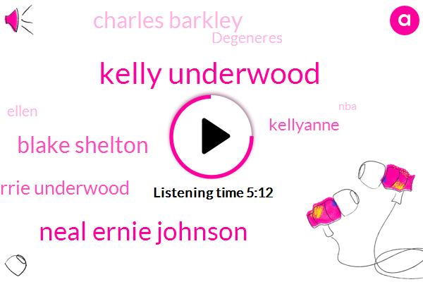 Kelly Underwood,Neal Ernie Johnson,Blake Shelton,Carrie Underwood,Kellyanne,Charles Barkley,Degeneres,Ellen,NBA,SKY,Jimmy Kimmel,Urban Meyer,Jimmy,Football,Hollywood,GUY