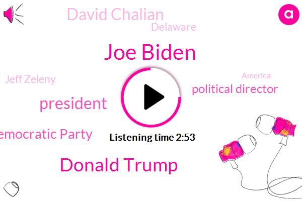 Joe Biden,Donald Trump,CNN,President Trump,Democratic Party,Political Director,David Chalian,Delaware,Jeff Zeleny,Wilmington,United States,America