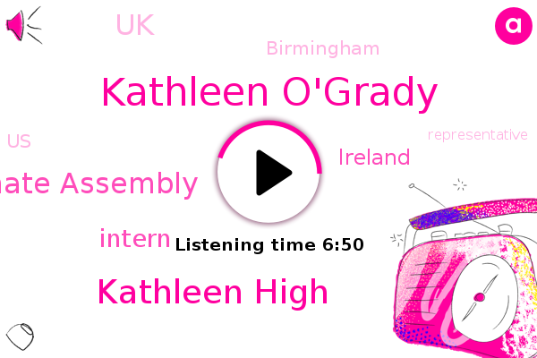 Ireland,UK,Kathleen O'grady,Climate Assembly,Kathleen High,Intern,Nineteen Ninety,Birmingham,United States,Football,Representative