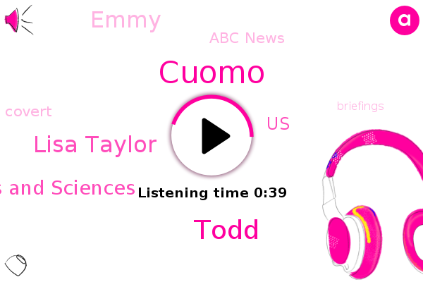 International Academy Of Television Arts And Sciences,Cuomo,Emmy,Abc News,Todd,United States,Lisa Taylor