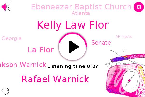 Kelly Law Flor,Rafael Warnick,La Flor,Senate,Senator Johnny Isakson Warnick,Ebeneezer Baptist Church,Atlanta,Georgia,Ap News
