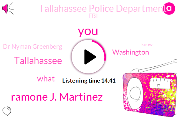 Ramone J. Martinez,Tallahassee,Washington,Tallahassee Police Department,FBI,Dr Nyman Greenberg,Florida,United States,Police Department,Clements,Ma Washington Metropolitan Police Department,Partner,Washington Metropolitan Police Department,Greenburgh,Customs Office,Bob Herald,Dr Moore,Health Realty Services