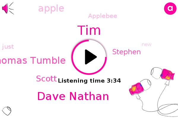 Apple,TIM,Dave Nathan,Applebee,Thomas Tumble,Scott,Stephen