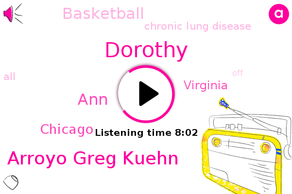 Dorothy,Basketball,Arroyo Greg Kuehn,Chicago,Chronic Lung Disease,ANN,Virginia