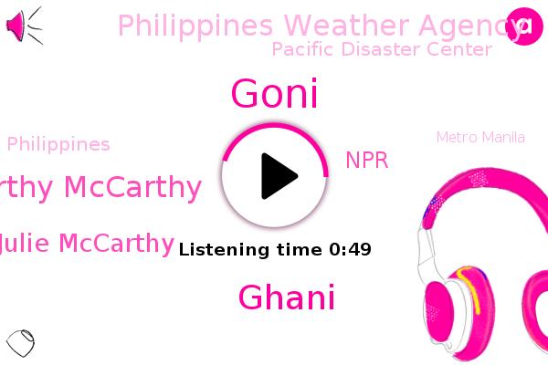 Listen: Strongest typhoon of 2020 slams the Philippines