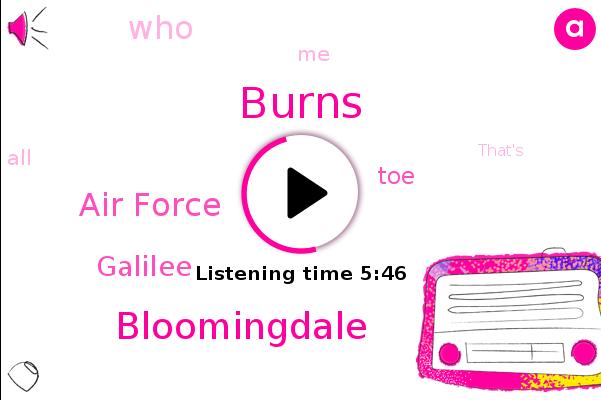 Bloomingdale,Air Force,Burns,Galilee,TOE