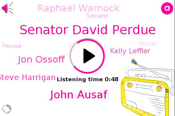 Senate,Senator David Perdue,John Ausaf,Georgia,Jon Ossoff,House,Steve Harrigan,Kelly Leffler,Raphael Warnock,FOX
