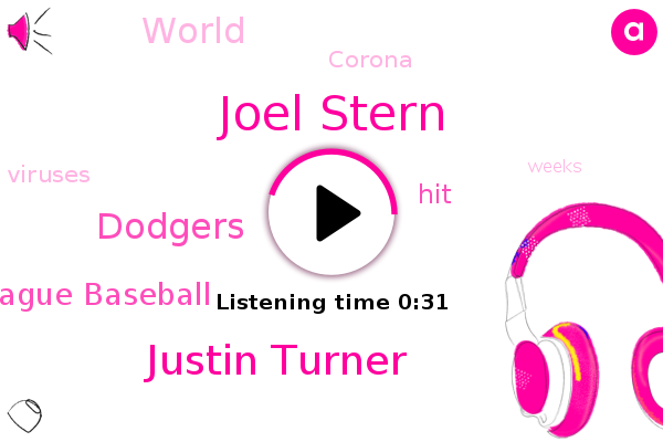 Joel Stern,Dodgers,Justin Turner,Major League Baseball