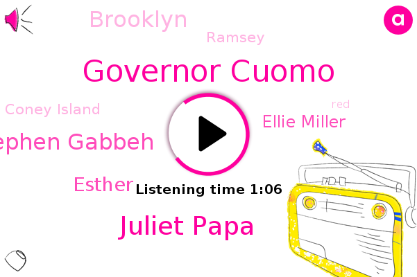 Governor Cuomo,Juliet Papa,Brooklyn,Ramsey,Stephen Gabbeh,Coney Island,Esther,Ellie Miller