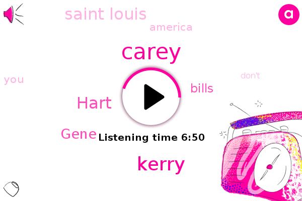 Carey,Kerry,Hart,Saint Louis,America,Bills,Gene