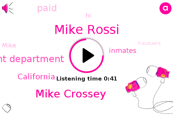 Mike Rossi,California Employment Development Department,California,Mike Crossey