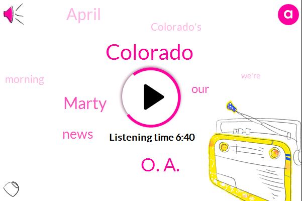 Colorado,O. A.,Marty