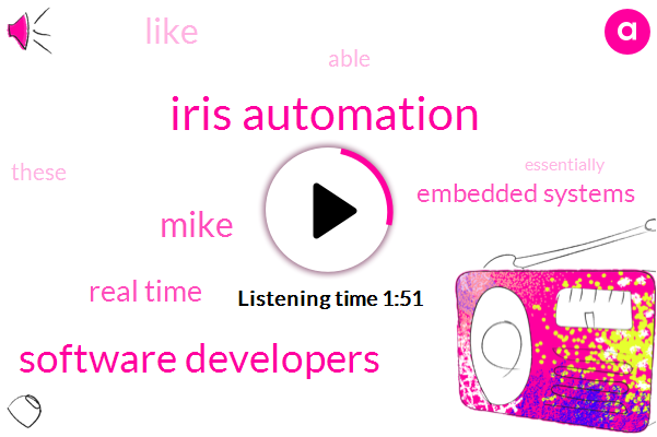 Iris Automation,Software Developers,Mike,Real Time,Embedded Systems