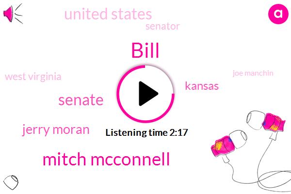 Bill,Mitch Mcconnell,Senate,Jerry Moran,Kansas,United States,Senator,West Virginia,Joe Manchin,Shelley Moore Capito,Obamacare,Barack Obama,Medicaid