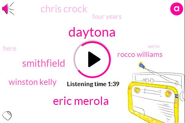 Eric Merola,Smithfield,Winston Kelly,Daytona,Rocco Williams,Chris Crock,Four Years
