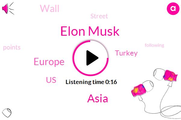 Tesla,Elon Musk,Saudi Arabia,Turkey,Toby Knapp,Nate Drian,Europe,Asia,Newsradio,Bloomberg,The North Face