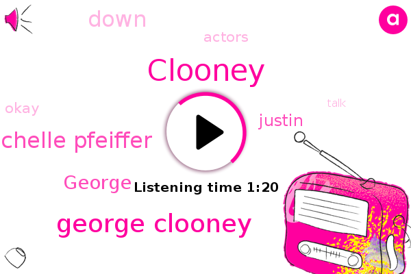 George Clooney,Michelle Pfeiffer,Clooney,George,Justin