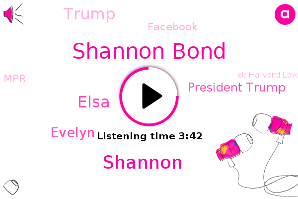 Facebook,Shannon Bond,Shannon,Elsa,MPR,Ek Harvard Law School,NPR,Supreme Court,Myanmar,Evelyn,Denmark,President Trump,Donald Trump