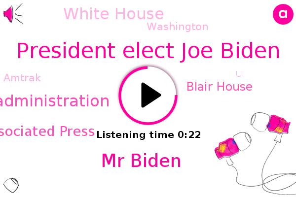 Listen: Joe Biden WON'T take Amtrak to inauguration