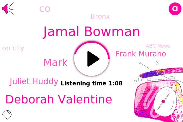 Op City,Jamal Bowman,Bronx,CO,Deborah Valentine,Abc News,Mark,ABC,Juliet Huddy,Frank Murano