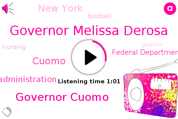 Governor Melissa Derosa,Cuomo Administration,Federal Department Of Justice,Governor Cuomo,New York,Football,Cuomo