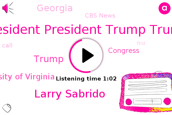 Listen: Trump Caught on Tape Asking To 'Find' Votes in Georgia