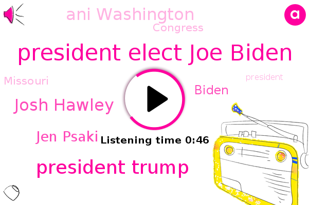 Listen: Missouri senator to contest Electoral College win for Biden