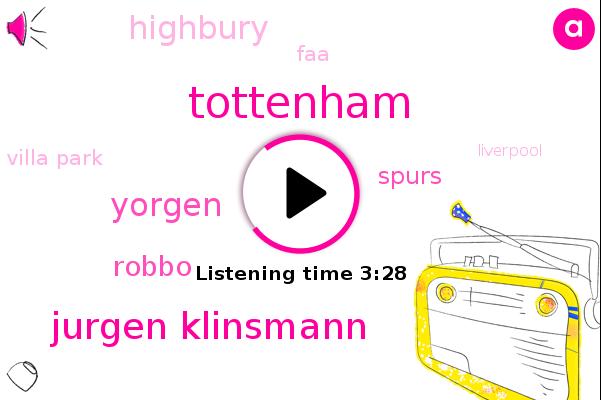 Jurgen Klinsmann,Fa Cup,Yorgen,Liverpool,Spurs,Tottenham,Robbo,England,Highbury,FAA,Villa Park