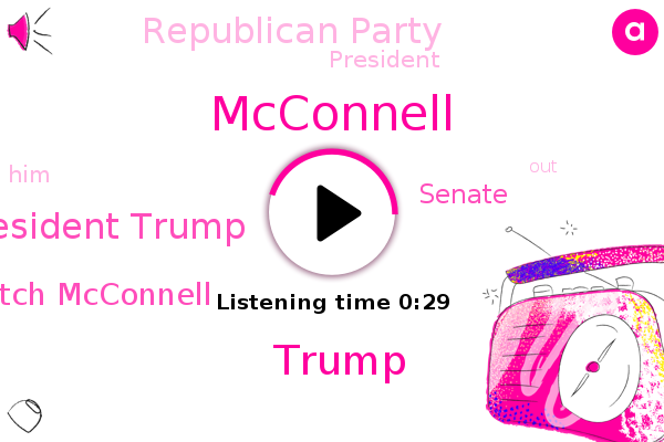 Listen: Trump blasts McConnell as a 'hack' who lacks 'political insight'