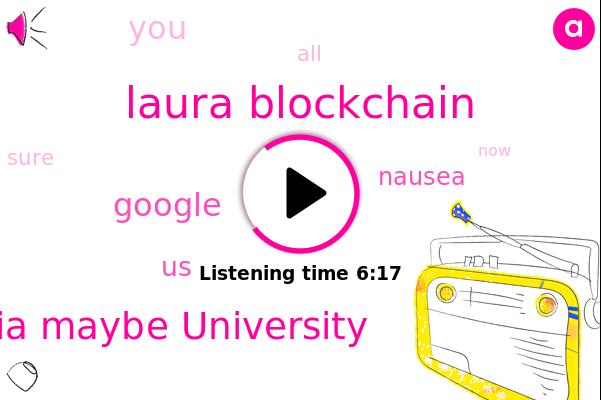 Bitcoin,Laura Blockchain,University Of Recosia Maybe University,Nausea,United States,Google