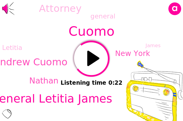 Attorney General Letitia James,Governor Andrew Cuomo,Nathan,New York,Cuomo