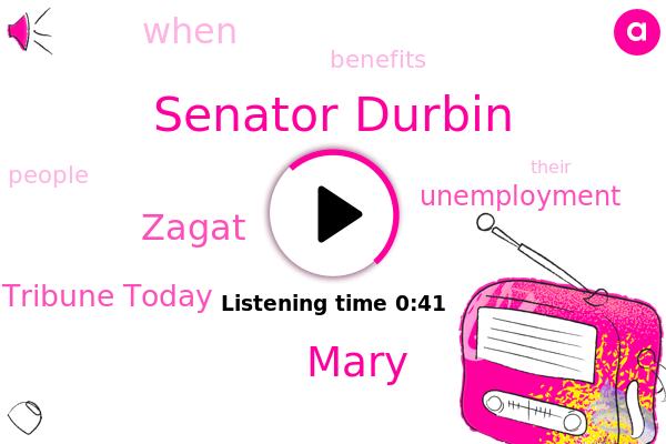 Tribune Today,Zagat,Senator Durbin,Mary