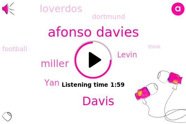 Afonso Davies,Dortmund,Davis,Football,Miller,YAN,Levin,Loverdos