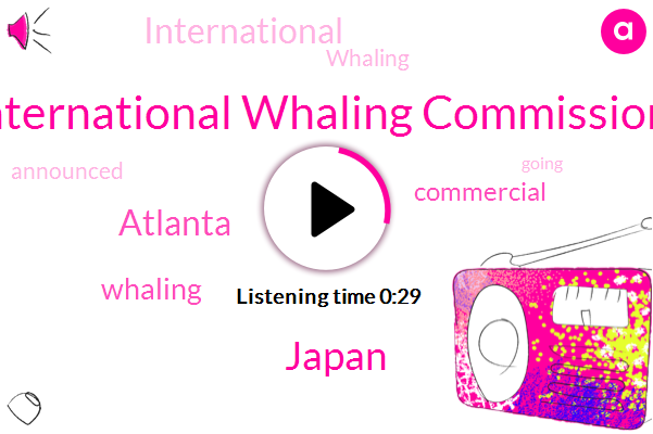 International Whaling Commission,Japan,Atlanta,Thirty Years