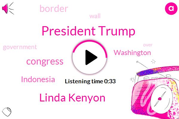 President Trump,Linda Kenyon,Congress,Indonesia,Washington