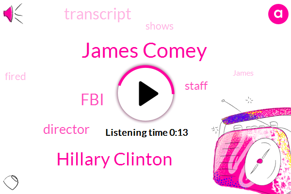 James Comey,Hillary Clinton,FBI,Director