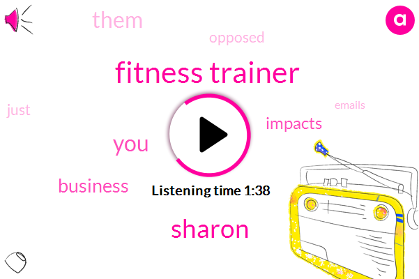 Fitness Trainer,Sharon