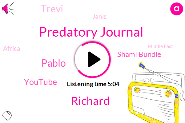 Predatory Journal,Richard,Pablo,Youtube,Shami Bundle,Trevi,Janis,Africa,Middle East,UK,Kabul,Nashville,Researcher,Cambridge,Germany